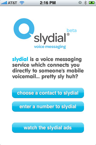 Syldial on iPhone